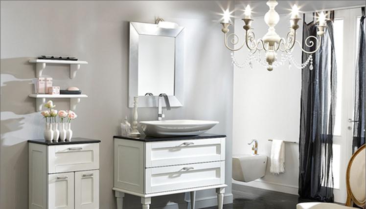 Mobili bagno classico moderno termosifoni in ghisa for Offerte bagni completi moderni