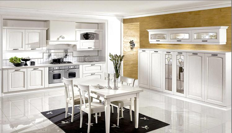 Pavese arredamenti for Arredamento classico bianco