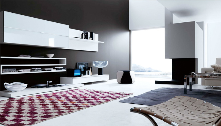 pavese arredamenti - Arredamento Moderno Zona Living